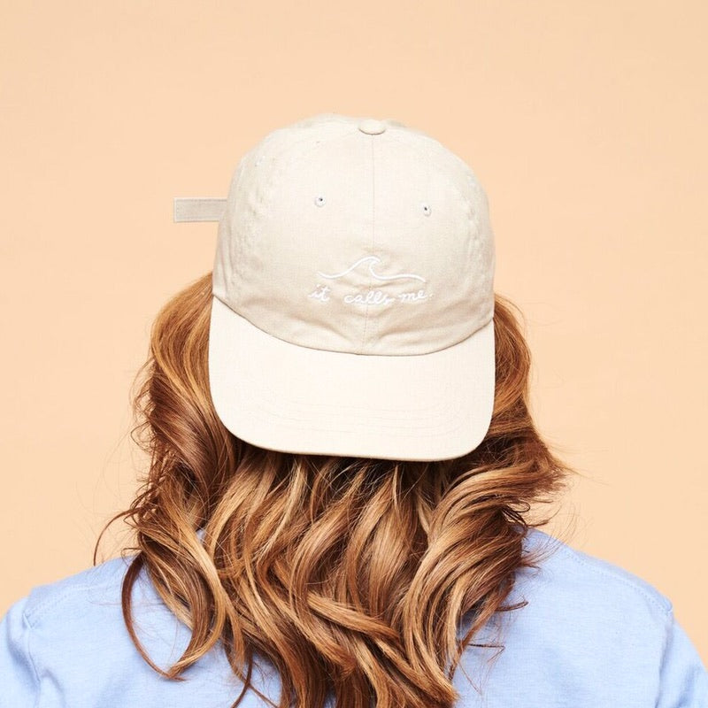 IT CALLS ME HAT - WHITE EMBROIDERY
