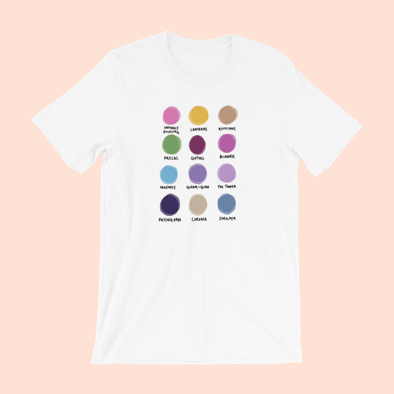 LANTERN FESTIVAL x WORLD OF COLOR -- UNISEX TEE