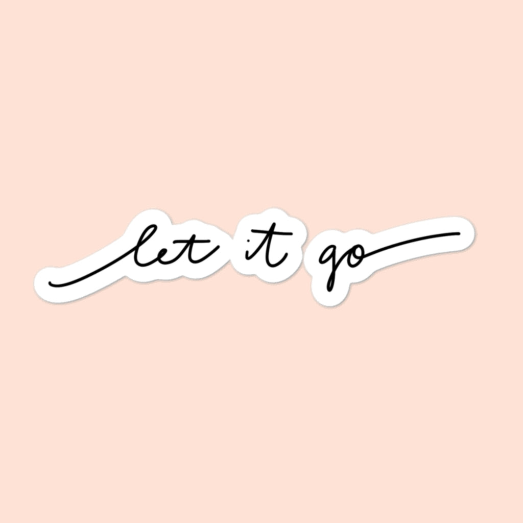LET IT GO - 4x4 STICKER