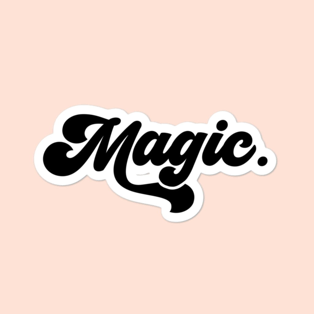 MAGIC - 4x4 STICKER