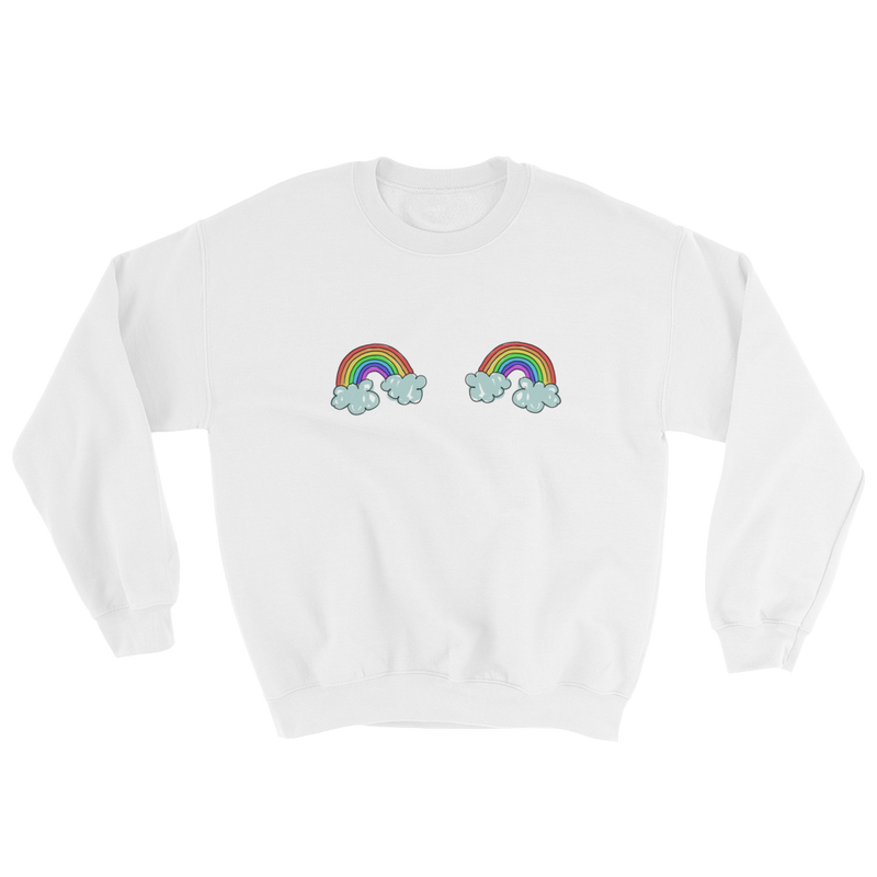 DOUBLE RAINBOWS - UNISEX CREW
