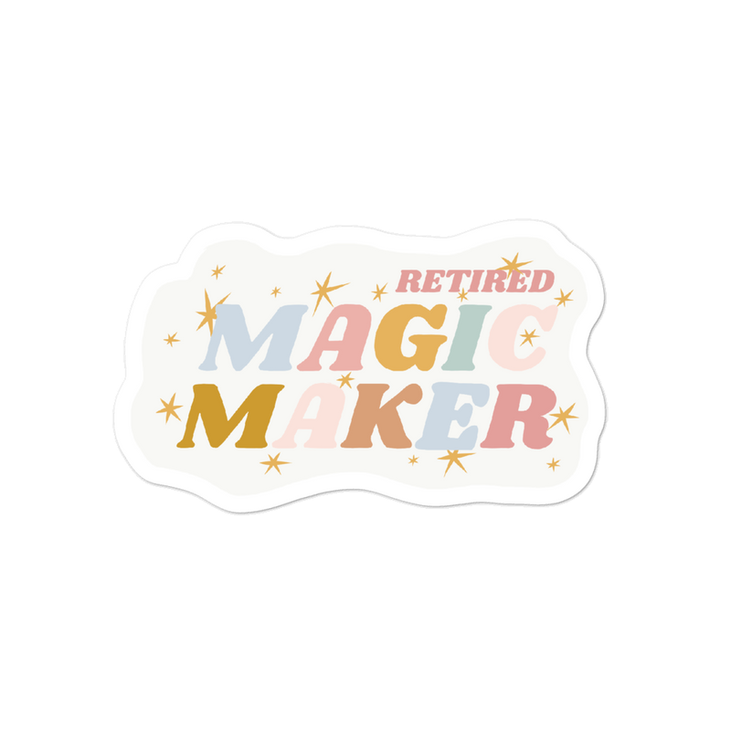 RETIRED MAGIC MAKER x KAYELYN ROBINSON -- 4x4 STICKER