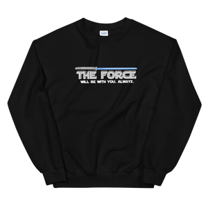 THE FORCE (BLACK) -- UNISEX CREW