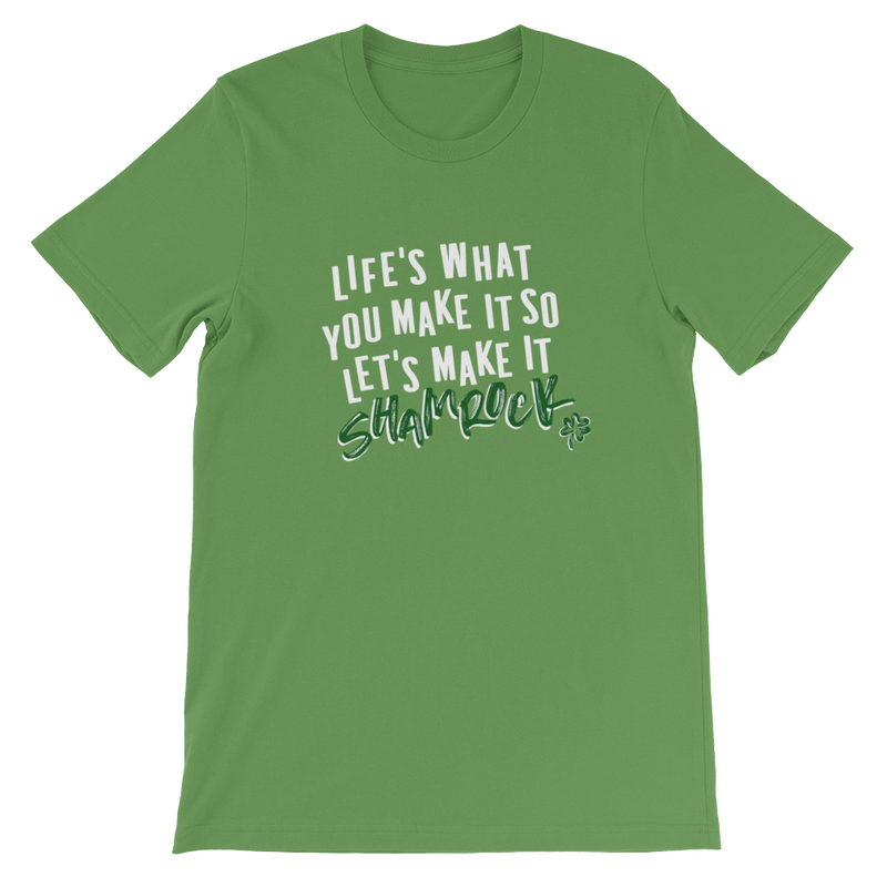 LET'S MAKE IT SHAMROCK - LIMITED EDITION UNISEX TEE