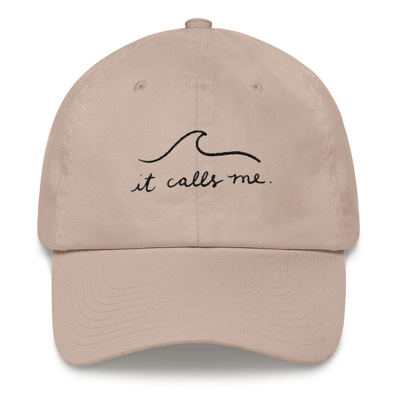 IT CALLS ME HAT - BLACK EMBROIDERY