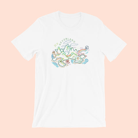 THE SNUGGLY DUCKLING x DREAMER DESTINATIONS UNISEX TEE