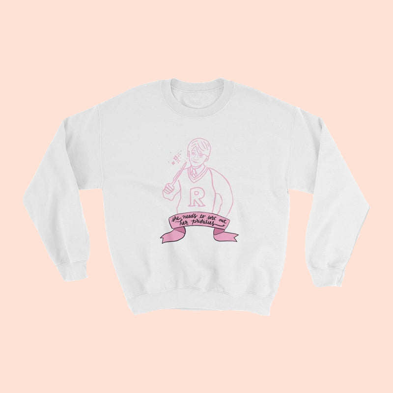 SHE NEEDS TO ... - UNISEX CREWNECK