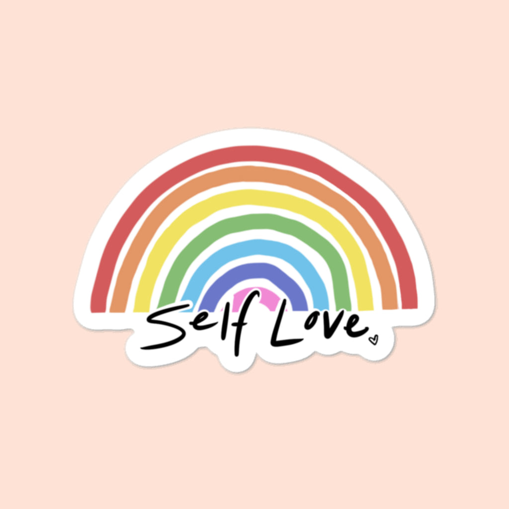 SELF-LOVE - 3x3 STICKER