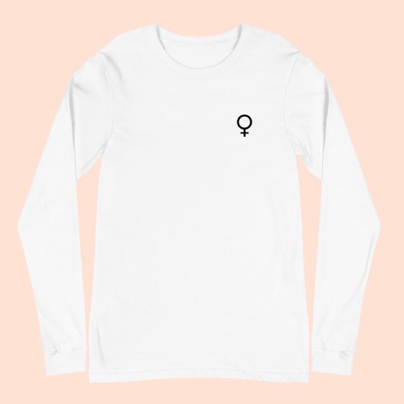 WOMEN'S DAY FRONT & BACK - UNISEX LONG SLEEVE