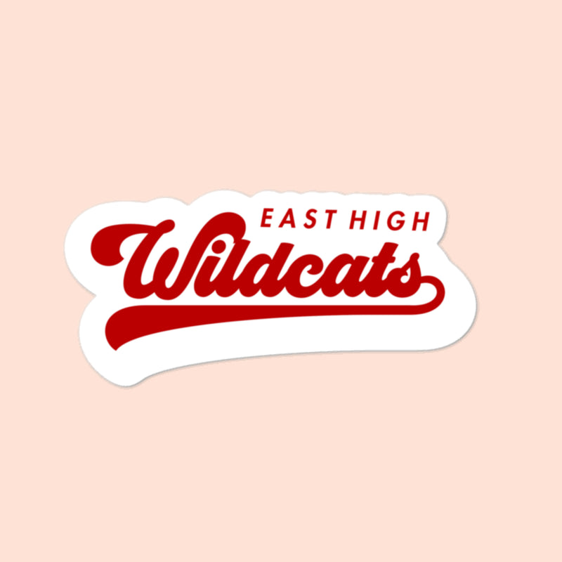 EAST HIGH THROWBACK - 3x3 STICKER