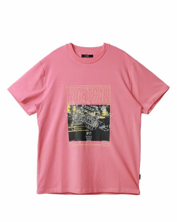 SS GRAPHIC TEE / NIGHTCALL