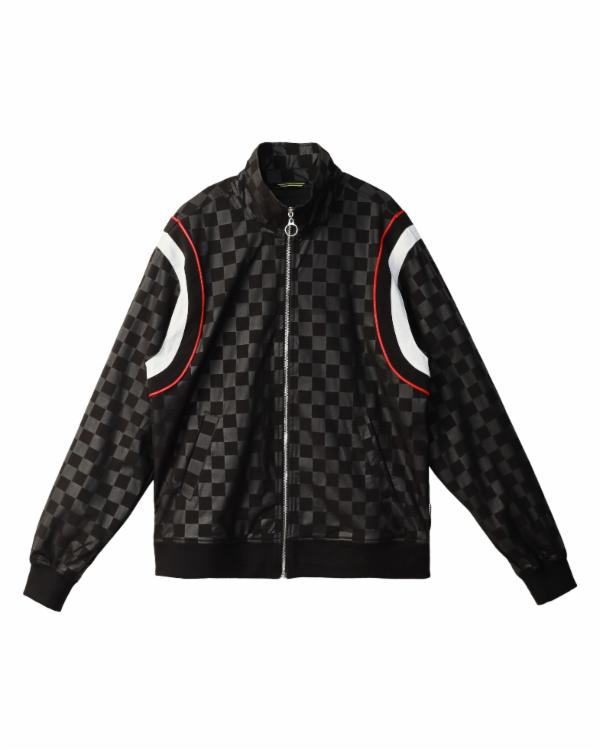 Demarcus Flurry : TONAL CHECKER WINDBREAKER / VETTEL