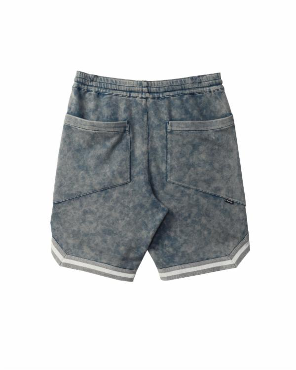 ACID WASH KNIT SHORTS / BOTTAS
