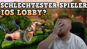 Youtube: SCHLECHTESTER SPIELER - IOS LOBBY? | Fortnite Battle Royale