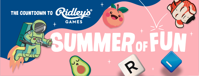 The Countdown to Ridley's Games Summer of Fun