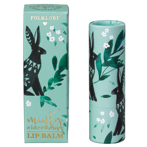 Folklore Rabbit Minty Elderflower Lip Balm