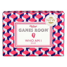 Ridley's Games Room Who Am I Trivia Quiz