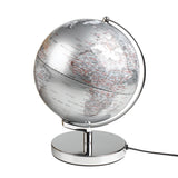 Gentlemen's Hardware 10 Inch Silver Globe Light