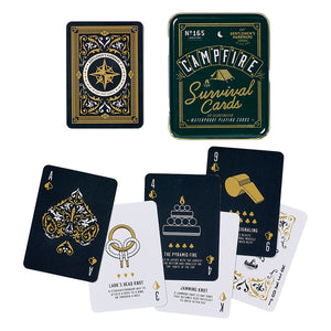 Gentlemen's Hardware Campfire Survival Playing Cards