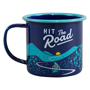 Gentlemen's Hardware Blue Bicycle Enamel Mug