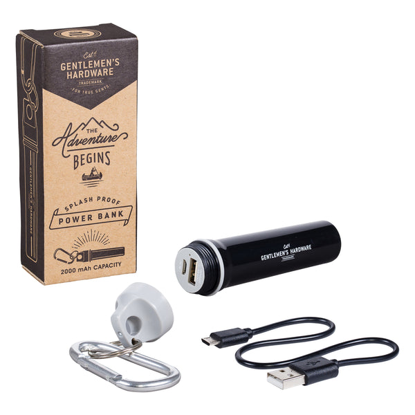 Gentlemen's Hardware Splash Proof Charger