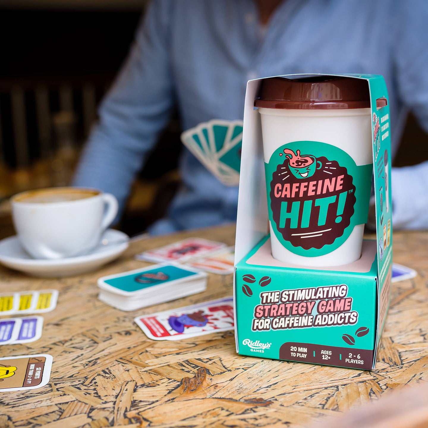 Ridleys Games Caffeine Hit Card Game