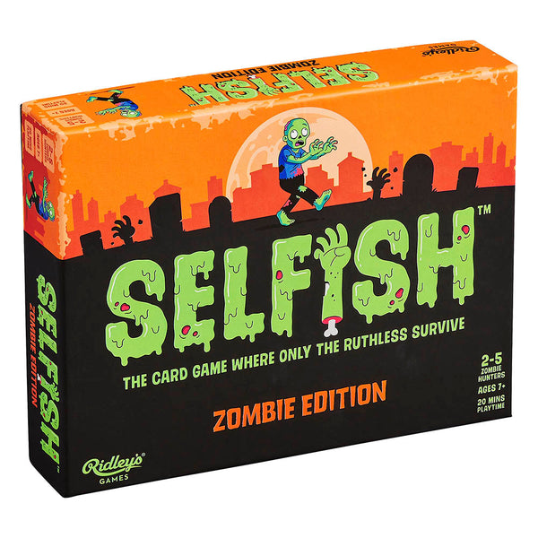 Ridley's Games Selfish Zombie Edition Strategy Card Game