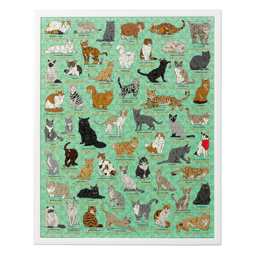 Ridley's Games Cat Lovers Jigsaw Puzzle