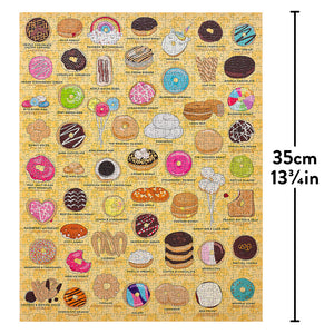 Ridley's Games 1000pc Donut Lover's Jigsaw