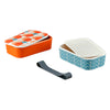 Orla Kiely Butterfly Stem Bamboo 2 Tier Lunch Box
