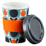 Orla Kiely Sky Scallop Flower Bamboo Travel Cup