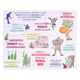 Petit Collage Roald Dahl Two-Sided 49-Piece Puzzle