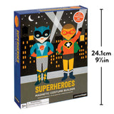 Petit Collage Superheroes Magnetic Dress Up Play Set