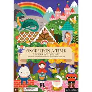 Petit Collage Once Upon a Time Sticker Activity Set