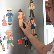 Petit Collage Little Travellers Magnetic Play Set