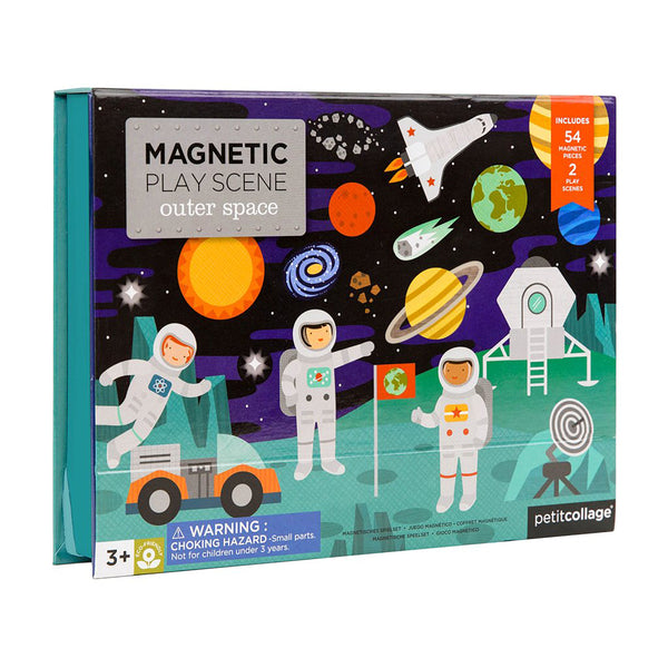Petit Collage Space Magnetic Play Scene