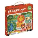 Petit Collage Animals Sticker Mosaic Set