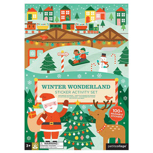 Petit Collage Winter Wonderland Sticker Activity Set