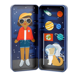 Petit Collage Space Bound Magnetic Dress Up
