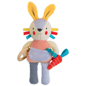 Petit Collage Organic Bunny Toy