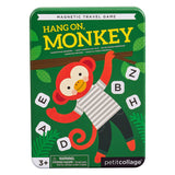 Petit Collage Hang On Monkey Magnetic Travel Game