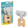 Petit Collage Organic Elephant Teether