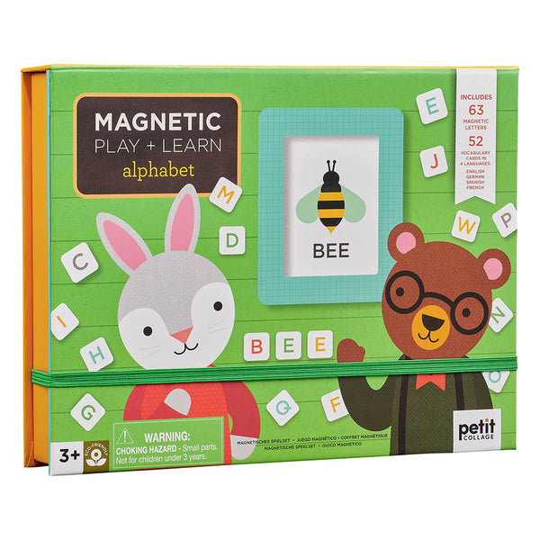 Petit Collage Magnetic Alphabet Play & Learn