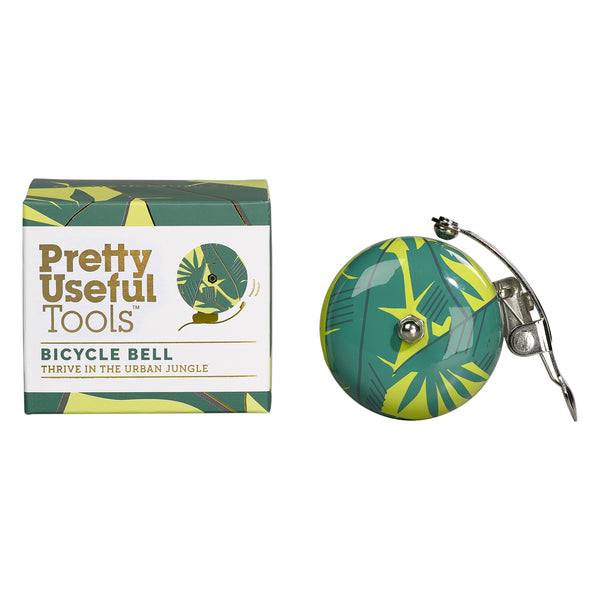 Pretty Useful Tools Bicycle Bell, Jungle Yellow