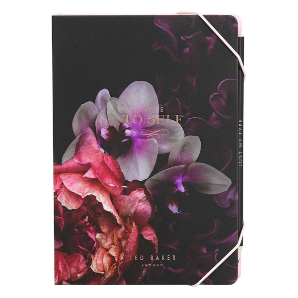 Ted Baker A5 Sticky Notes Notebook, Splendour Design