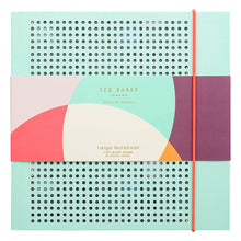 Ted Baker Colour By Numbers Mint Mesh Notebook
