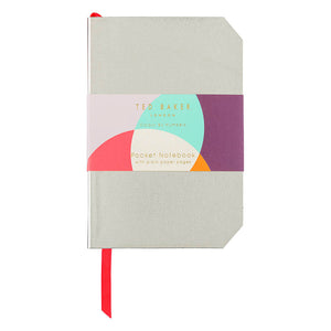 Ted Baker Colour By Numbers Gold Mini Notebook