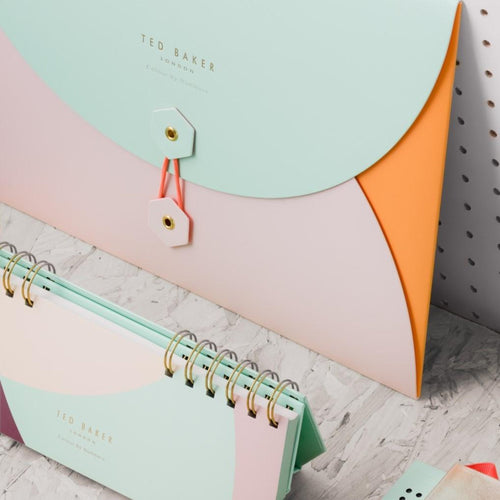 Ted Baker Colour By Numbers A4 Envelope Wallet