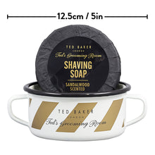 Ted Baker Enamel Shaving Bowl & Soap