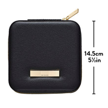 Ted Baker Black Zipped Jewellery Case